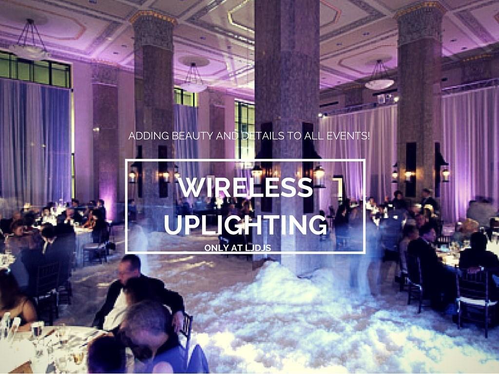 Wireless Uplighting